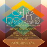 Evensloped (Live PA) @ CaPe Noche - Till Dawn Marburg - 31.08.2012