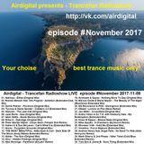 Airdigital - Trancefan Radioshow LIVE #November 2017-11-09 (master mix)