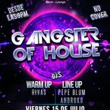 House-a-Nation... Friday 15th Sky Lounge - Gangster of House