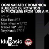 Menny Fasano @ Radio Selene - Klubasic Session [13.12.2014]