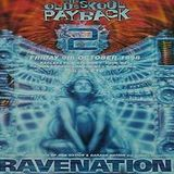 Nicky Blackmarket (Arena 2) RAVENATION 'The Old Skool Payback 2' 9th Oct 1998