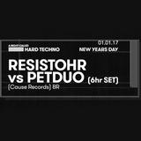 Resistohr vs. PETDuo - 6 hours set @ R33 Club,  Barcelona - 01.01.17
