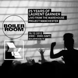 Laurent Garnier - Live @ 25 Years Of Laurent Garnier Warehouse Project Manchester (UK) 2012.12.16.