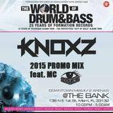 KNOXZ WODNB WMC 2015 PROMO MIX feat. SOPHEYE