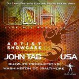 DJ Earic Patten's ElektrikMetroHouseVibes LIVE Mix Sessions on ClubVibez Radio UK |Guest - John Tab