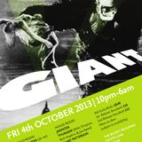 Live at Giant@The Bussey Building, Oct 2013