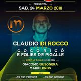 rm Claudio Di Rocco Dj 24.03.2018