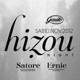 ERNIE (MINUENDO) & SATORE (HIZOU RECORDS) @ GARITO CAFE / 10.11.12 (PART. 2)