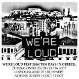 We're Loud Fest 2016 Sampler