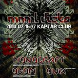 Odom live @ Kaptár Club, Mnml Dizko 2010.07.16