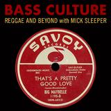 Bass Culture - October 10, 2016
