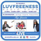 Luvfreeness Radio Show 27/09/18 In Conversation w/ Tey Yaniis