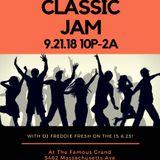 Freddie Fresh Live @ The Grand Circle City Classic Weekend 9-21-2018