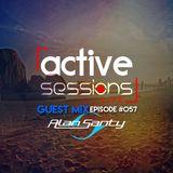 Active Sessions Live #057 Guest Mix Alan Santy