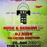 Justin Berkovi vs. Dj Rush @ Union Rave - Tor 3 Düsseldorf - 20.06.2003