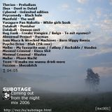 Subotage - Coming Out From The Night Mix from 2006