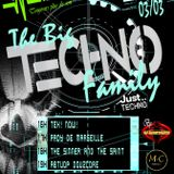 "Event The Big Techno Family 7 ""The Sinner and The Saint"" Radio Impulse 3.3.2019"
