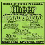Green Velvet (Live PA) @ Cheer - Irish Center Pittsburgh - 28.03.1998