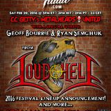 Metalheads United 322 - Loud As Hell V Lineup Announcement Show