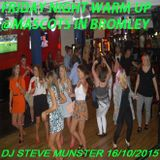 Friday Night Warm Up Mix @Mascots In Bromley 17th October 2015.