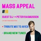 MASS APPEAL #18 - GUEST DJ: PETER RASMUSSEN (23.4.18)