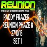 PADDY FRAZER (SET 1) LIVE AT REUNION PHAZE 8 @ CJ'S ROSYTH 27/10/18