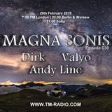 Andy Line - Guest Mix - MAGNA SONIS 038 (20th February 2019) on TM Radio