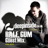 RALF GUM is on DEEPINSIDE