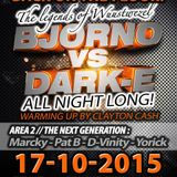 Legends of Wuustwezel - 17-10-2015 (DJ Bjorno vs Dark-E) - The-Borderline