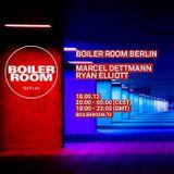 Marcel Dettmann b2b Ryan Elliott - Live @ Boiler Room (18-09-2013)