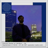Altered States w/ McBain - 2nd September 2017