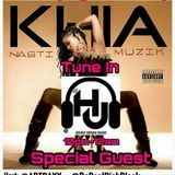 HIGHLY UNIQUE RADIO THE FRIDAY NIGHT BLOCK PARTY Special Guest KHIA AKA THUGMISSES & ALLA FROM MIAMI