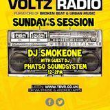 Sunday Sessions - DJ Smokeone - Phatso Soundsystem - The Basement Voltz Radio