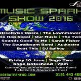 Hedleys Radio at Music Spark Show 2016