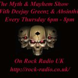 Deejay Greenz & Absinthia's Myth & Mayhem Show 29 06 2017 - 1800 - 2000
