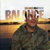 Phil K – Balance 004 - House Mix [2002]