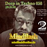 Deep in Techno 058 (29.10.18)