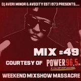 DJ Averi Minor - Weekend Mixshow Massacre mix #49