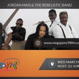 Jordan Mais & The Rebelistic Band Live on Mega Jamz 98 FM