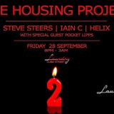 Housing Project 2nd Birthday at Laundry