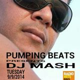 DJ Mash Live @ Pumping Beats on Radio Hits 88.2 (9-9-2014)