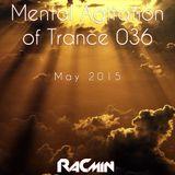 Mental Agitation of Trance 036 May 2015