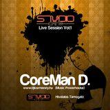 CoreMan D --- Studio Cafe Live Session Vol.:1