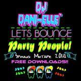 Lets Bounce Party People DJ Dani-Elle Spring Mixtape 2014