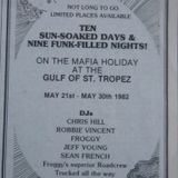 Sean French & Froggy Live in St Tropez Wednesday 26th May 1982 Part 1