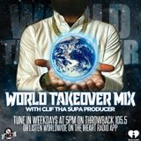80s, 90s, 2000s MIX - APRIL 25, 2018 - THROWBACK 105.5 FM - WORLD TAKEOVER MIX
