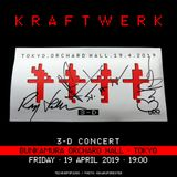 Kraftwerk - Bunkamura Orchard Hall, Tokyo, 2019-04-19 !!!!! LDJM, Don't copy this audio !!!!!