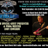 Heavy Rock Rapture Sept 4 with special guest presenter Andy Edwards