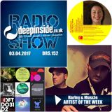 DEEPINSIDE RADIO SHOW 152 (Harley & Muscle Artist of the week)