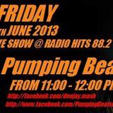DJ Mash Live @ Pumping Beats on Radio Hits 88.2 (07-06-2013)